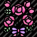 bouquet, flower, love, romance, valentines, day