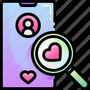 dating, app, love, romance, smartphone, search