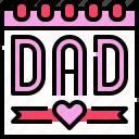 calendar, date, father, schedule, event