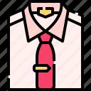 shirt, tie, clothes, clothing, man