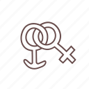 boy, couple, female, girl, male, sign, symbol icon