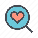love, romance, search