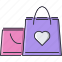 day, gift, love, package, purchase, relationship, valentine icon