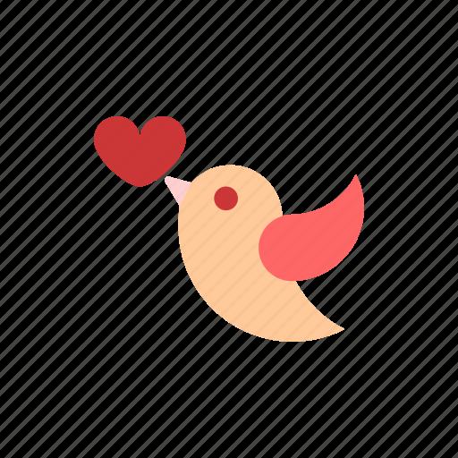 color, heart, love, romance, romantic, valentine icon