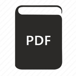 book, ebook, pdf, preview icon