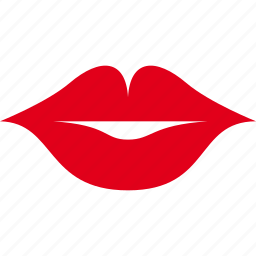 emotion, kiss, lips, lipstick, smiley icon