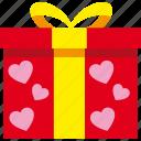gift, love, present, romantic, valentine