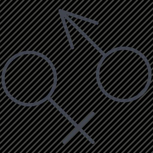 gender signs, love, lovely, sex, valentine, valentine's day icon