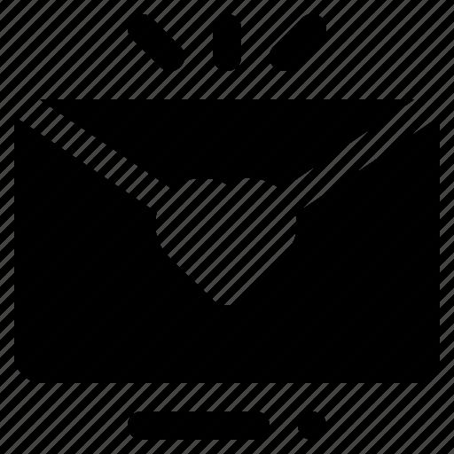 Envelope, heart, invitation, letter, mail, message, valentine icon - Download on Iconfinder