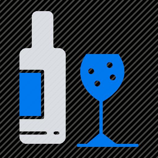 Bottle, drink, glass, love icon - Download on Iconfinder
