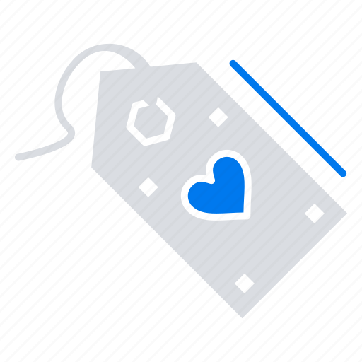discount, offer, sale, tag, valentine icon