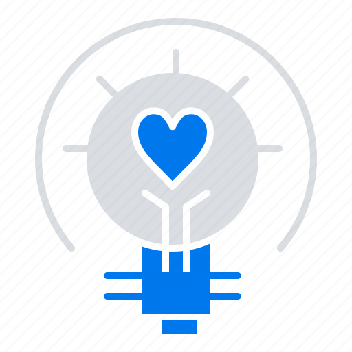 Bulb, light, tips, valentine icon - Download on Iconfinder