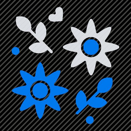 flower, gift, love, wedding icon