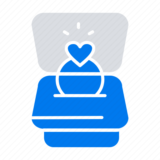 Heart, love, ring, wedding icon - Download on Iconfinder