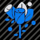 flower, heart, love, wedding
