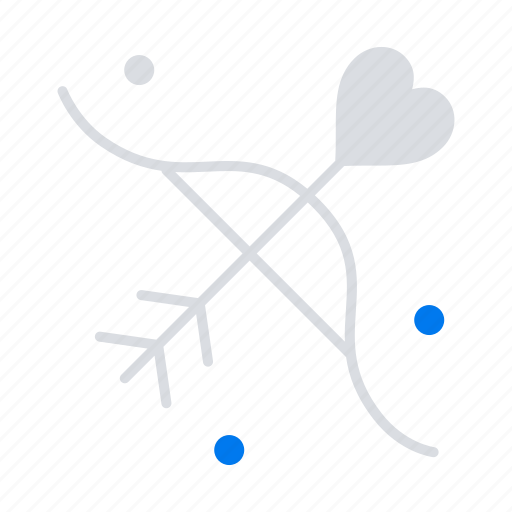 archery, love, marriage, wedding icon