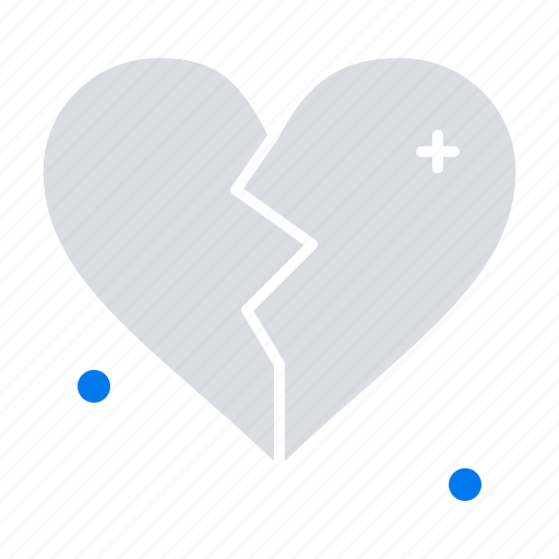 brokan, heart, love, wedding icon