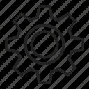 cog, cogwheel, edit, gear, settings, wheel icon