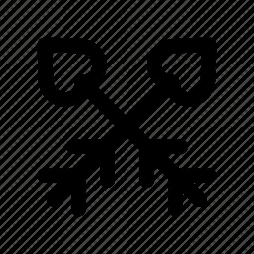 arrow, favorite, like, love, romance icon