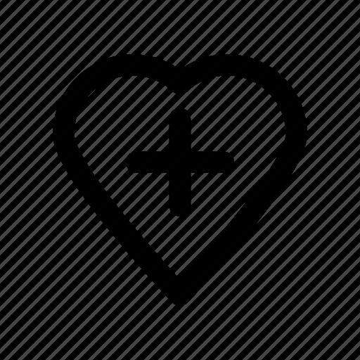 cardiology, healthcare, heart, life, treatment icon
