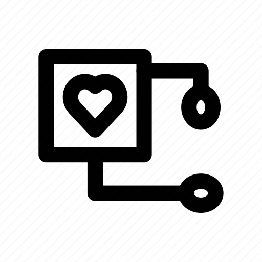 connected, group, heart, hierarchy, organization icon