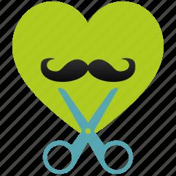 barber, heart, love, romantic, shop, style icon