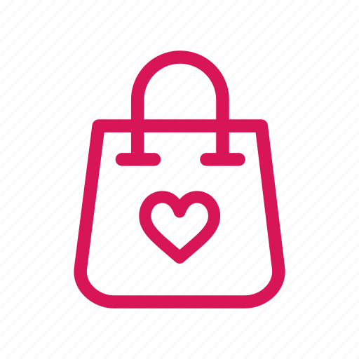 Bag, buy, heart, love, shop, shopping, valentine icon - Download on Iconfinder