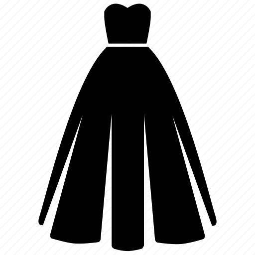 bridal gown, bride, dress, marriage, valentine, wedding, wedding dress icon