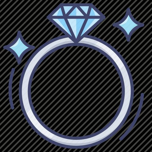 Diamond, proposal, ring, wedding icon - Download on Iconfinder