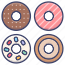 donut, donuts, food, snack