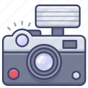 camera, flash, photograph, photography icon