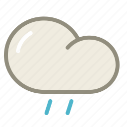 cloud, drizzle, forecast, rain, rainy, weather icon