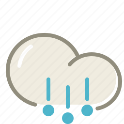cloud, clouds, cloudy, forecast, hail, weather icon
