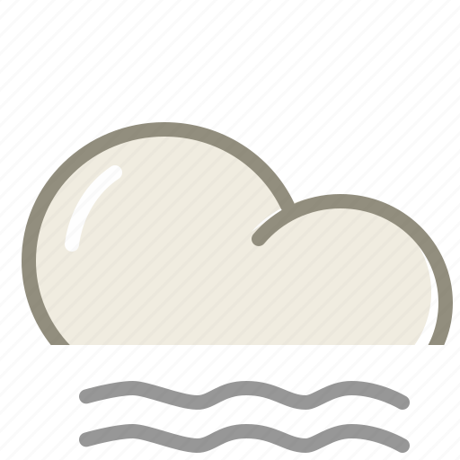 cloud, clouds, cloudy, fog, forecast, lightfog, weather icon