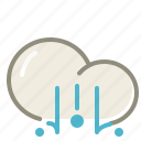 lighthail, cloud, clouds, cloudy, forecast, hail icon