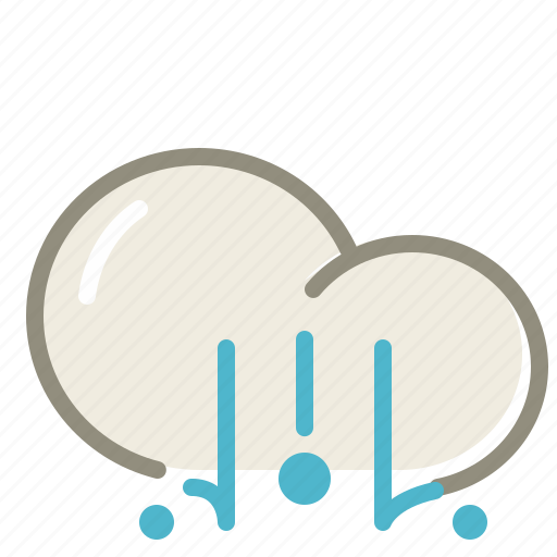 cloud, clouds, cloudy, forecast, hail, lighthail icon