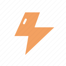 lightning, weather icon