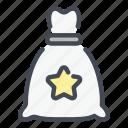 money, bank, bag, gift, star, best, reward