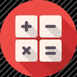 calc, calculate, calculator, estimator, math, reckoner, service icon