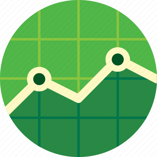 chart, diagram, graph, grid, line chart, line graph, report icon