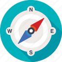 compass, navigation, safari, travel icon