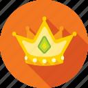 crown, diadem, king, royal icon