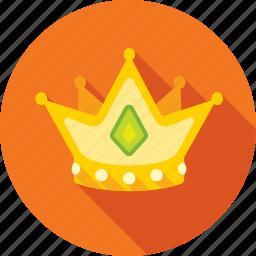 corona, crown, diadem, king, royal icon