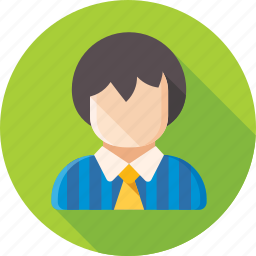 avatar, employee, man, office staff, person, personnel, user icon