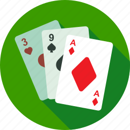cards, casino, fortuna, gambling, game, playing, poker icon