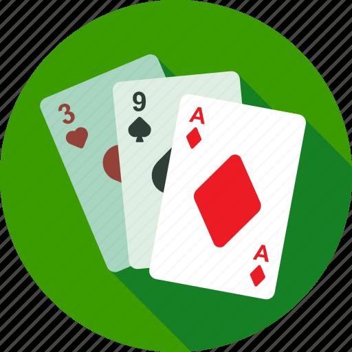 cards, casino, fortuna, gambling, game, playing, poker icon