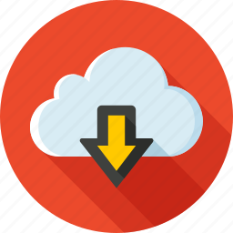 cloud, download, export, import, save, storage, synchronization icon