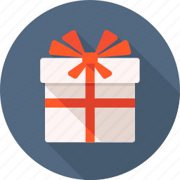 box, gift, gift box, holiday, package, present icon