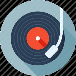 audio, device, media, music, play, player, vinyl icon