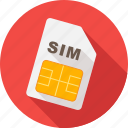 card, communication, gsm, mobile, phone, sim, simcard